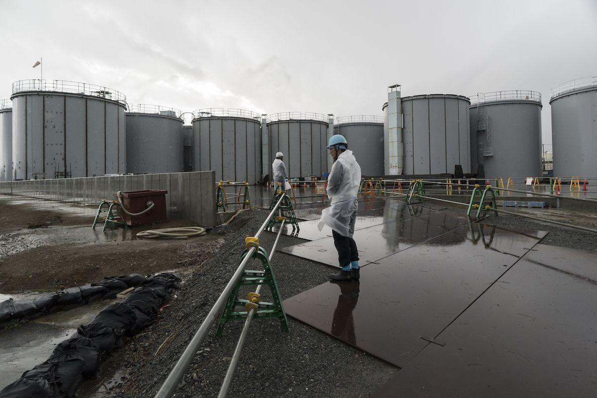 Giappone Fukushima nucleare radioattiva