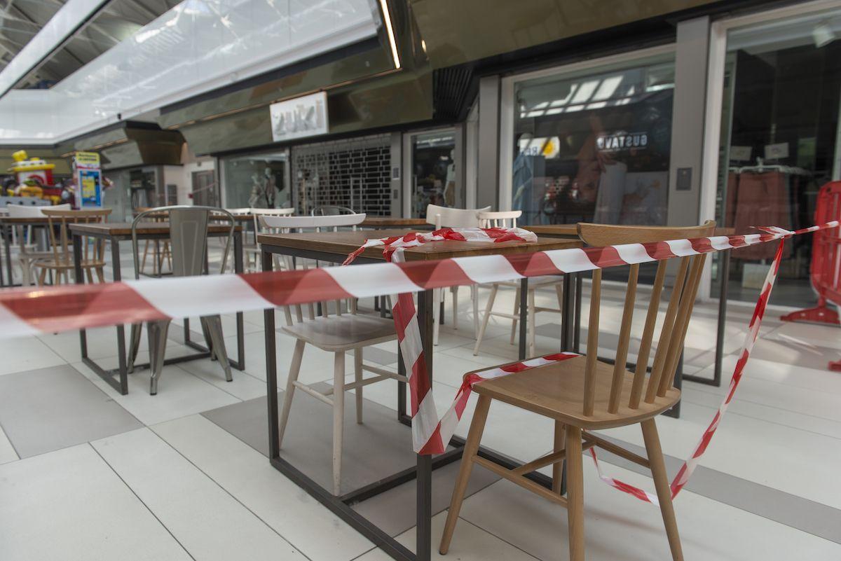 ristoranti negozi chiusi