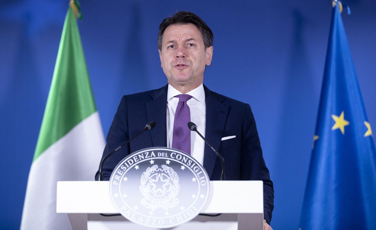 Giuseppe Conte Bruxelles