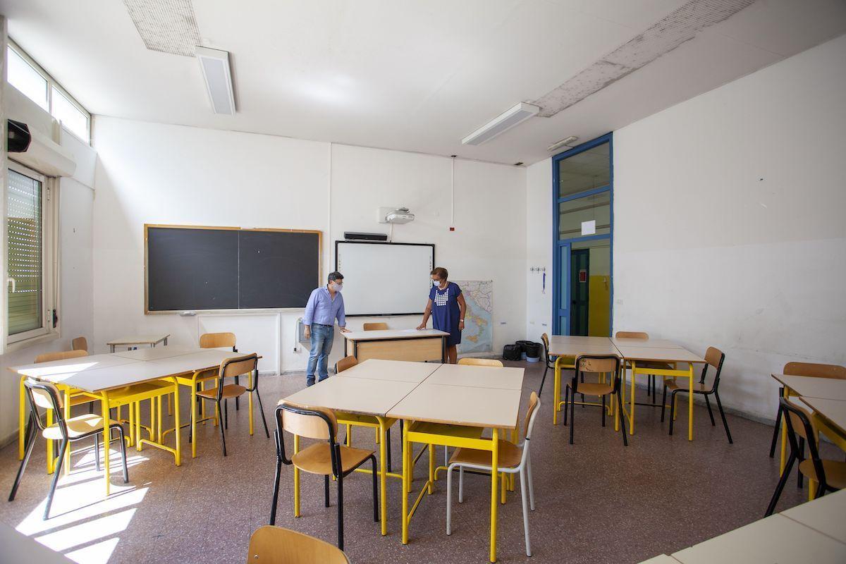 Covornavirus Puglia scuola classe
