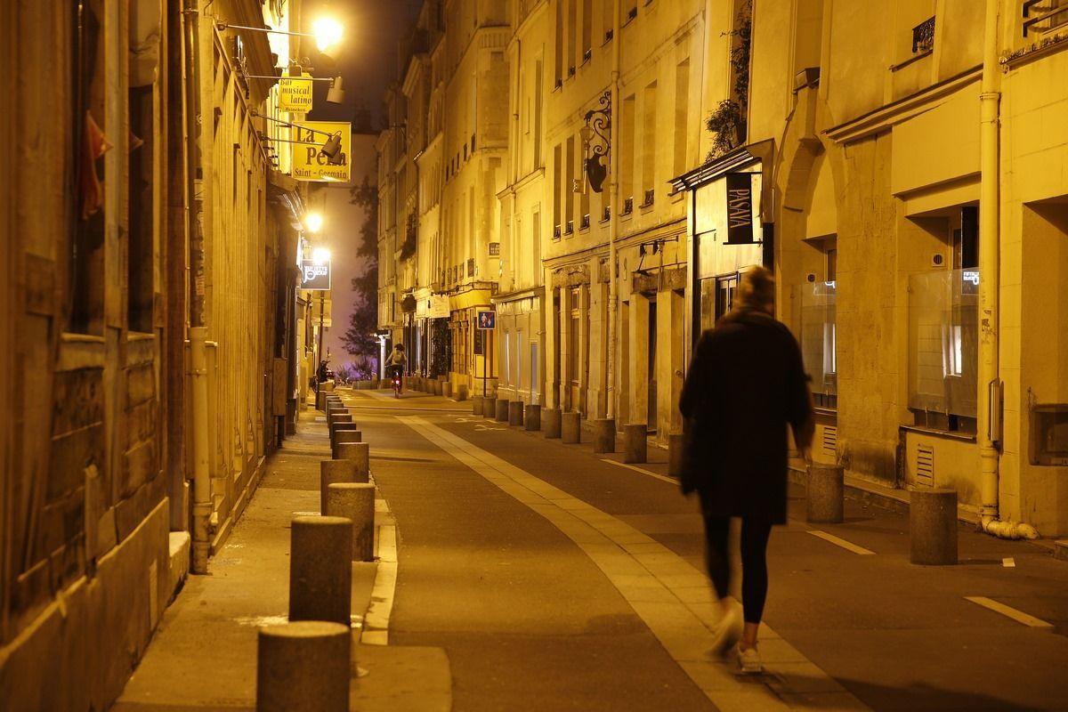 coprifuoco Parigi