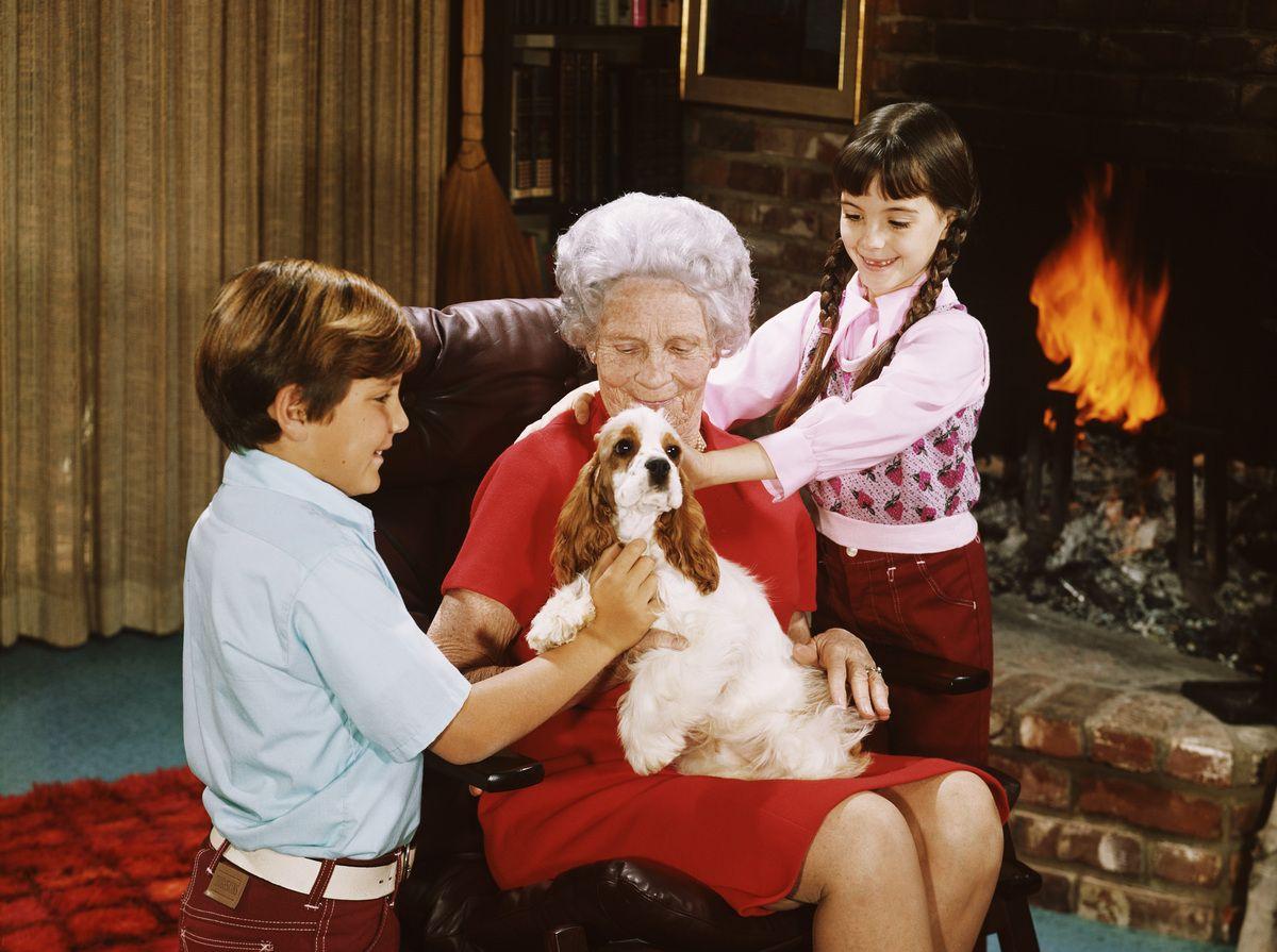 Nonna e nipoti