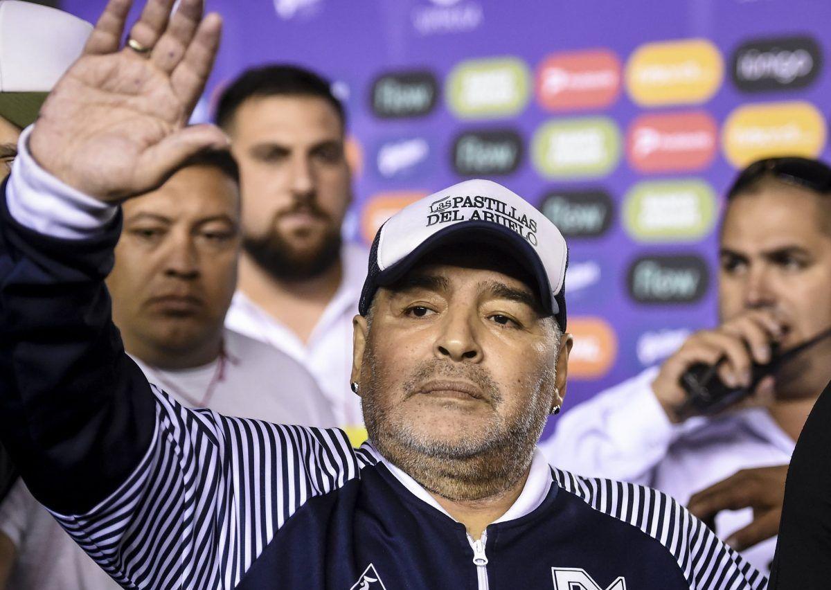 Diego Armando Maradona nel 2020
