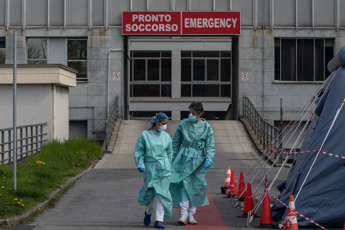 coronavirus covid-19 pronto soccorso medici