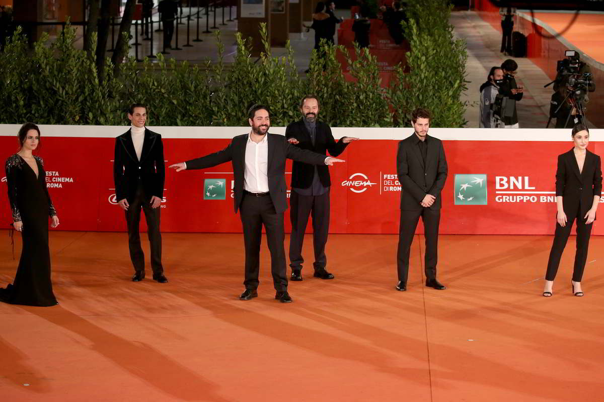 red carpet cast romulus