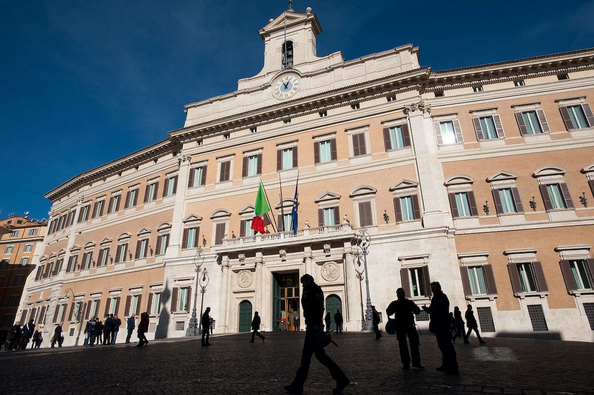 palazzo Montecitorio roma governo