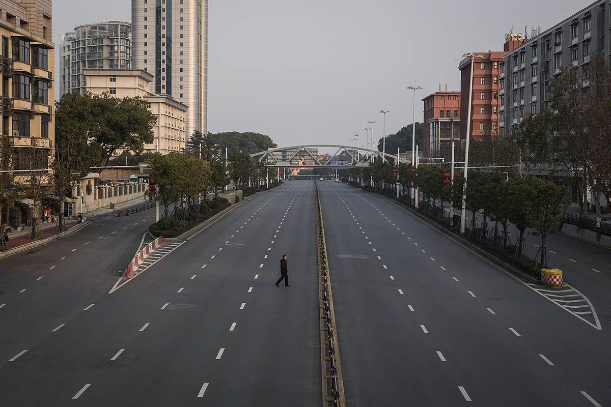 Wuhan durante il lockdown
