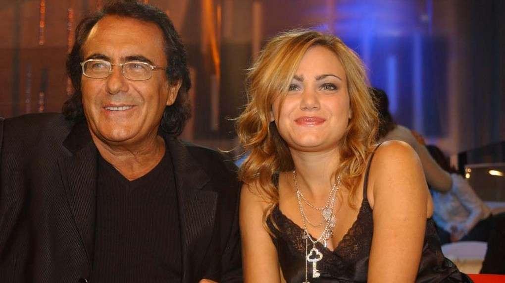 Al Bano con la figlia Romina Carrisi