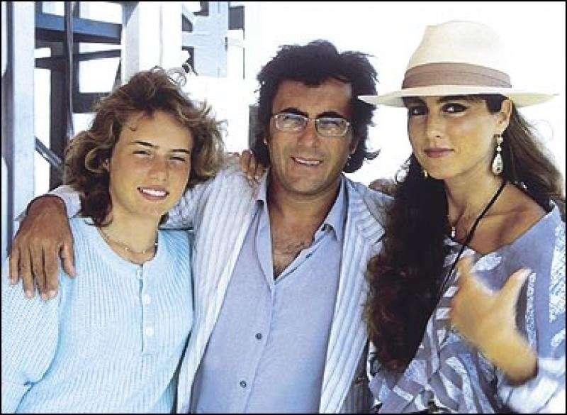 Al Bano e Romina in uno scatto degli anni '80