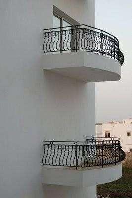 Balcone senza accesso