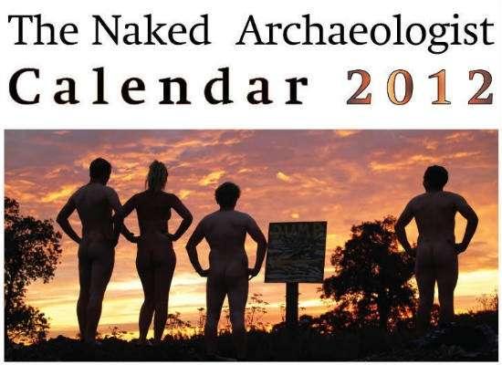 Calendario archeologi senza veli