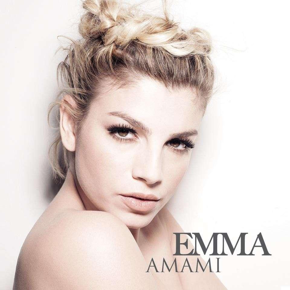 Emma sulla cover del singolo Amami