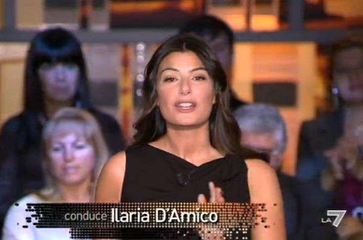 Ilaria D'Amico a La7