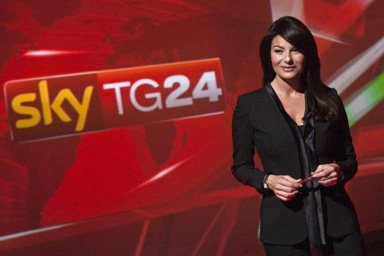 Ilaria D'Amico a Skytg24