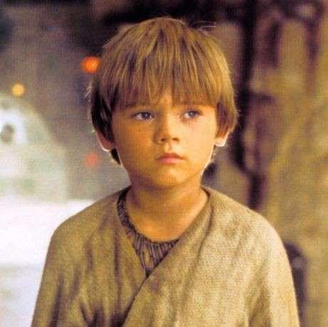 Anakin Skywalker bambino (Jake Lloyd)