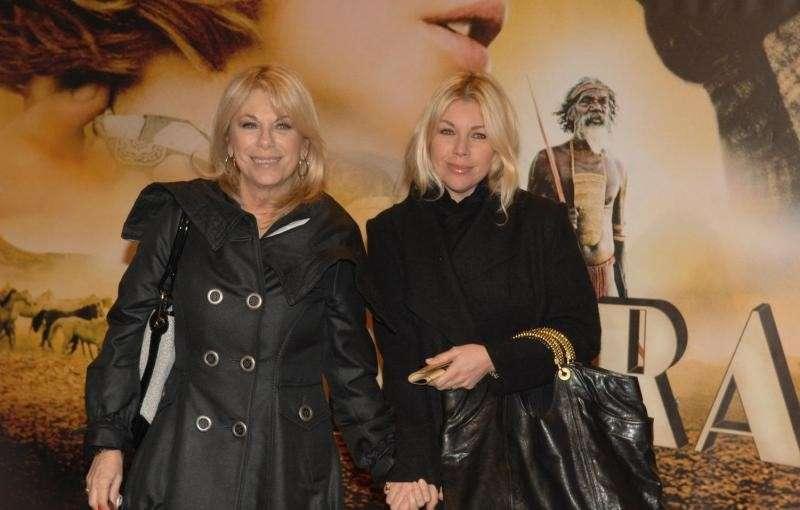 Con la figlia Giulia