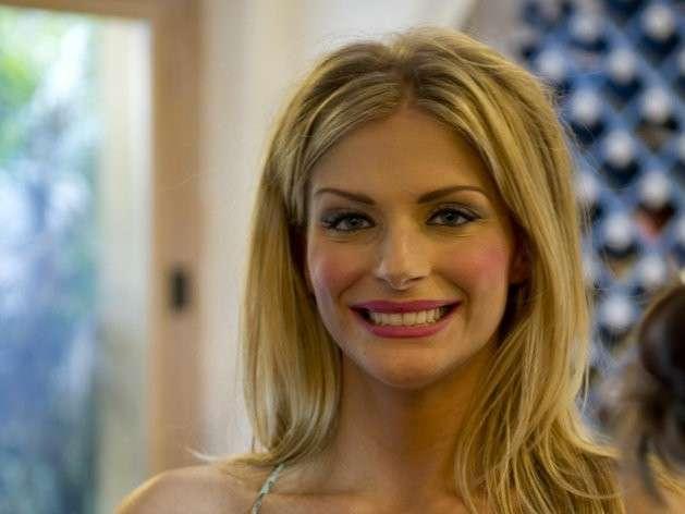Francesca Cipriani sorride