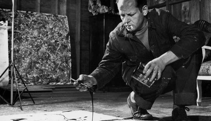 Jackson Pollock all'opera