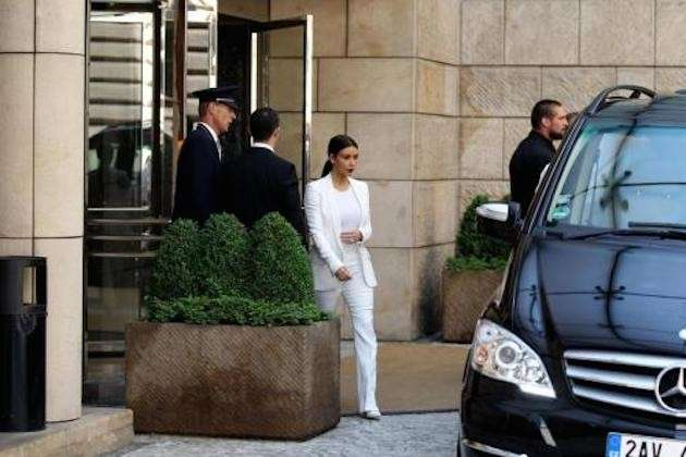 Kim Kardashian in viaggio di nozze