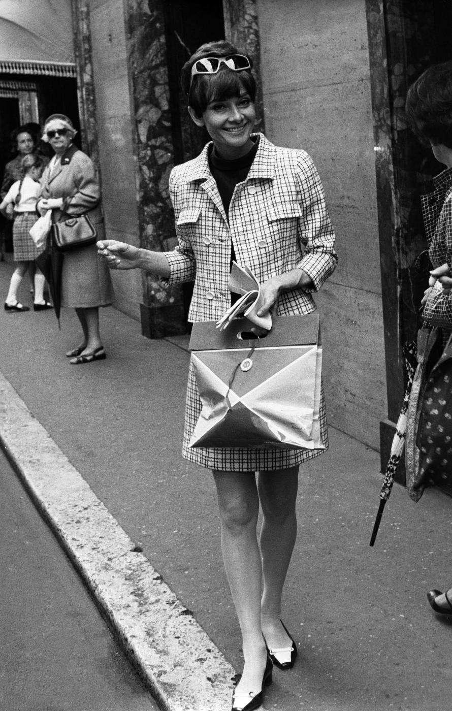 Audrey Hepburn a Roma negli anni '70