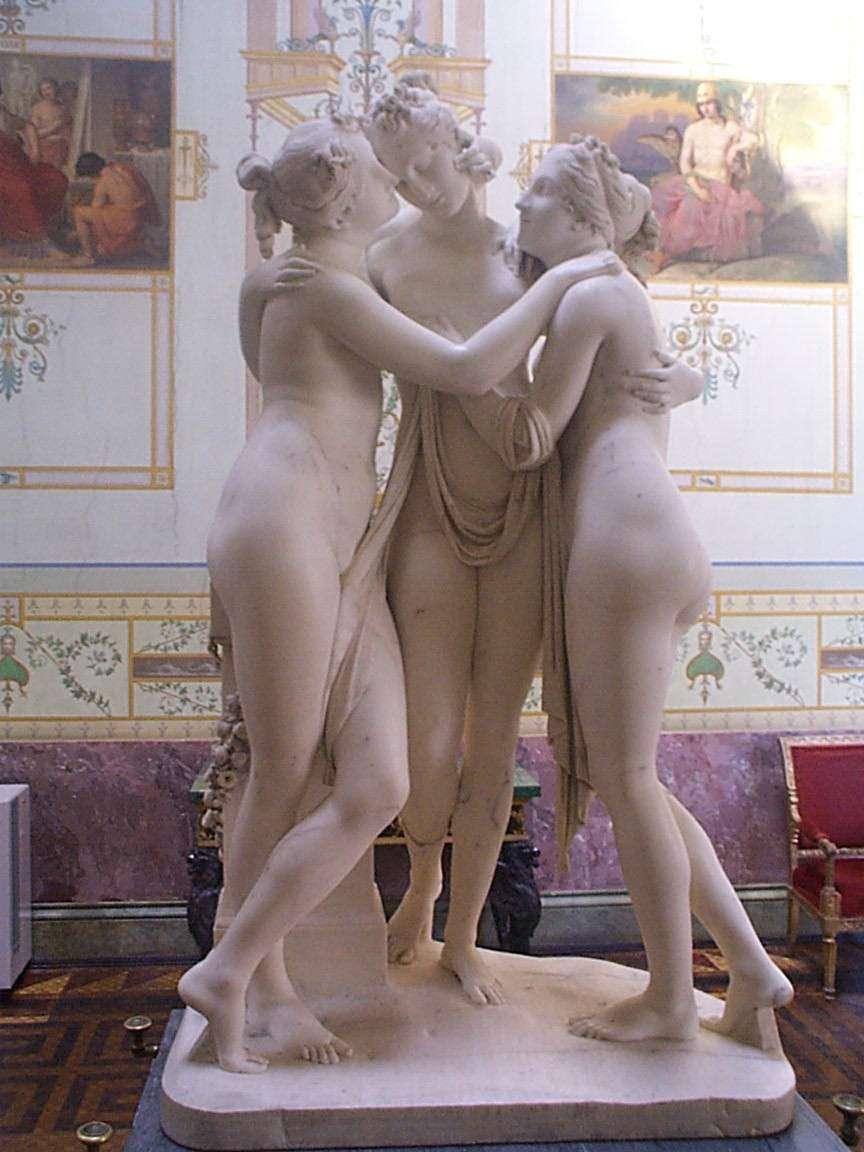 Le Tre Grazie, di Antonio Canova