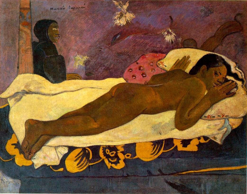 Lo spirito dei morti veglia, di Paul Gauguin