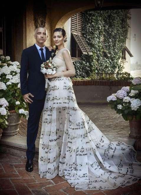 Eros Ramazzotti e Marica Pellegrinelli sposi