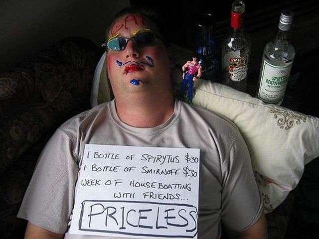 Gente ubriaca
