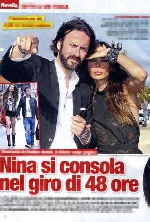 Nina Moric e Fausto Bianchi