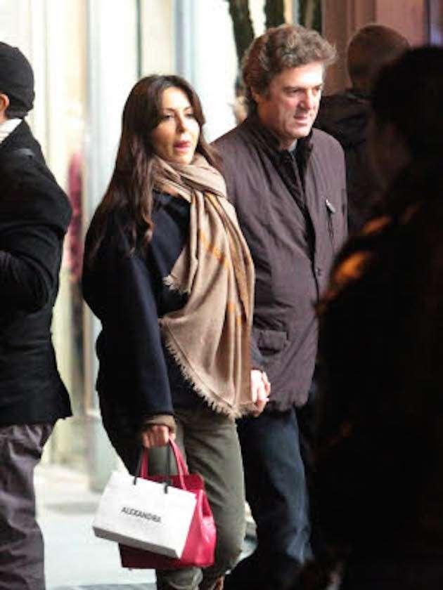 Sabrina Ferilli  fa shopping