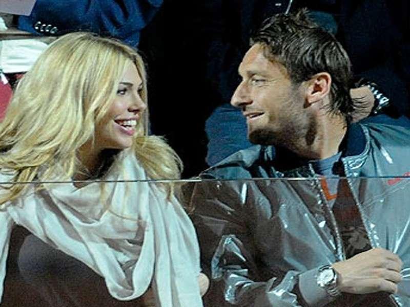 Totti e Ilary a Roma