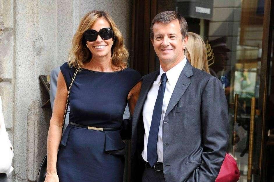 Cristina Parodi e il marito Giorgio Gori