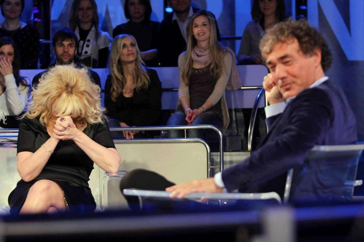 Massimo Giletti a L'Arena con Antonella Clerici