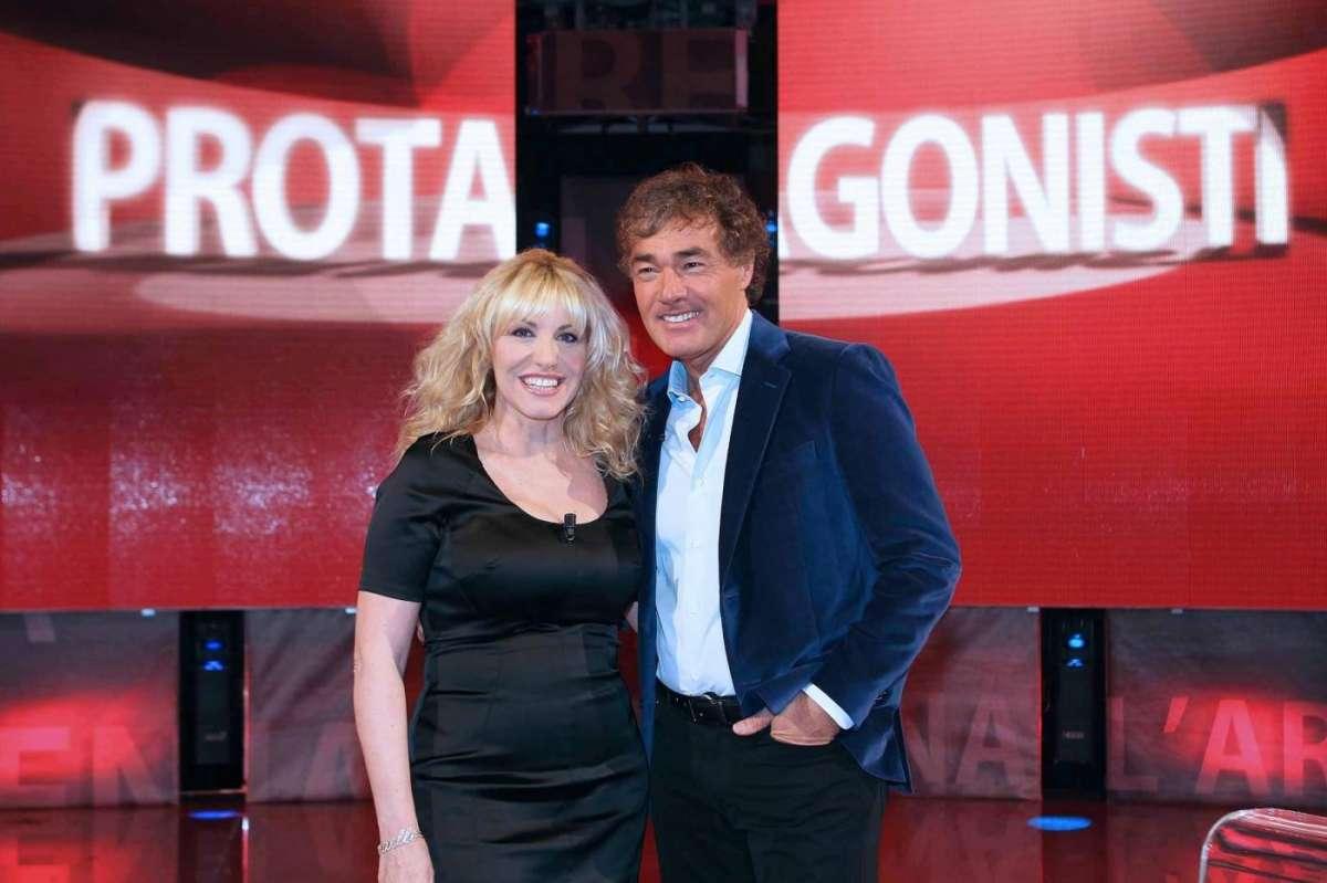 Massimo Giletti e Antonella Clerici