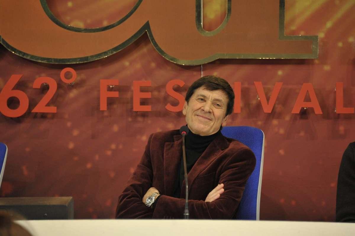 Gianni Morandi a Sanremo