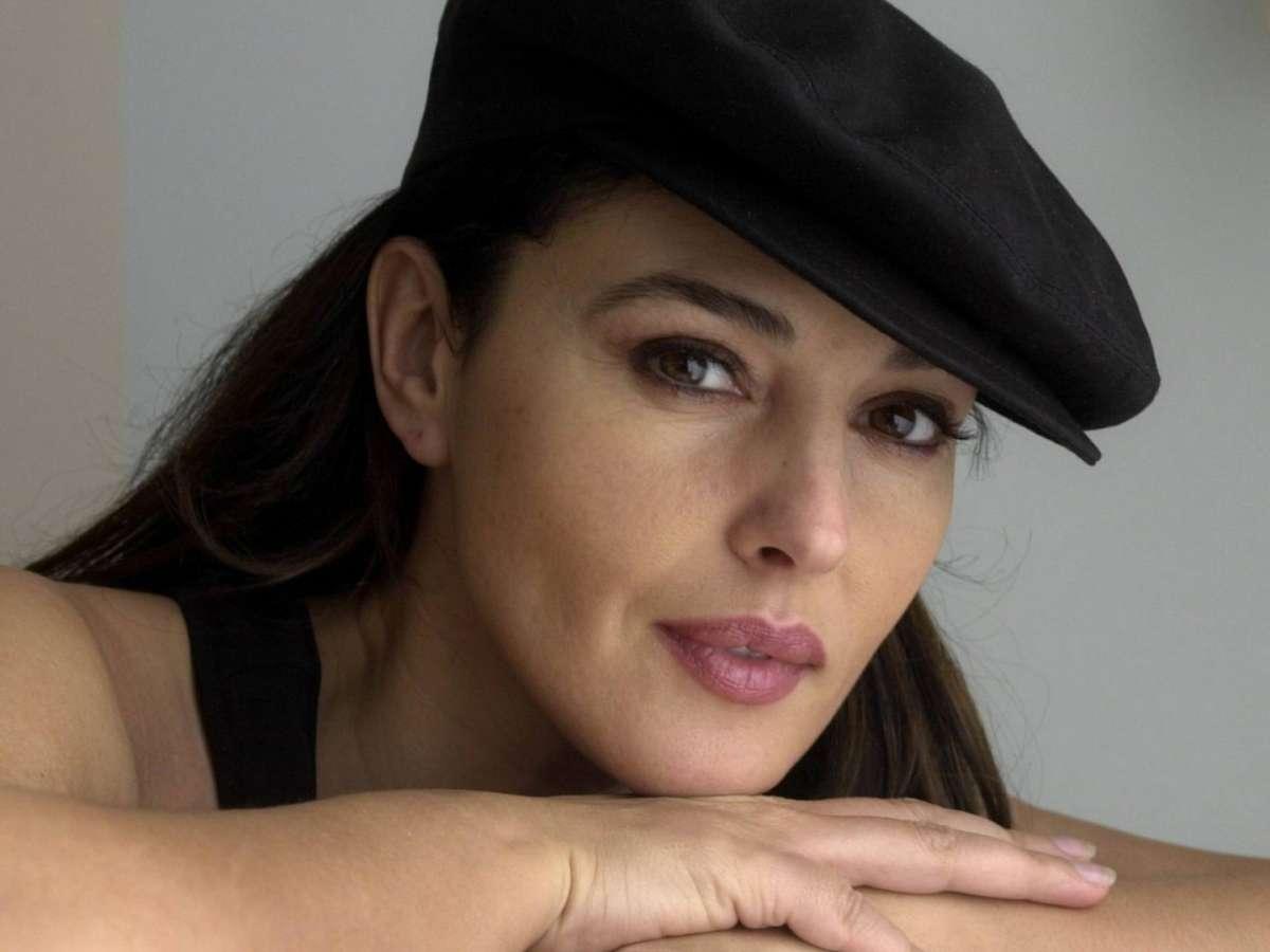 Monica Bellucci con la coppola
