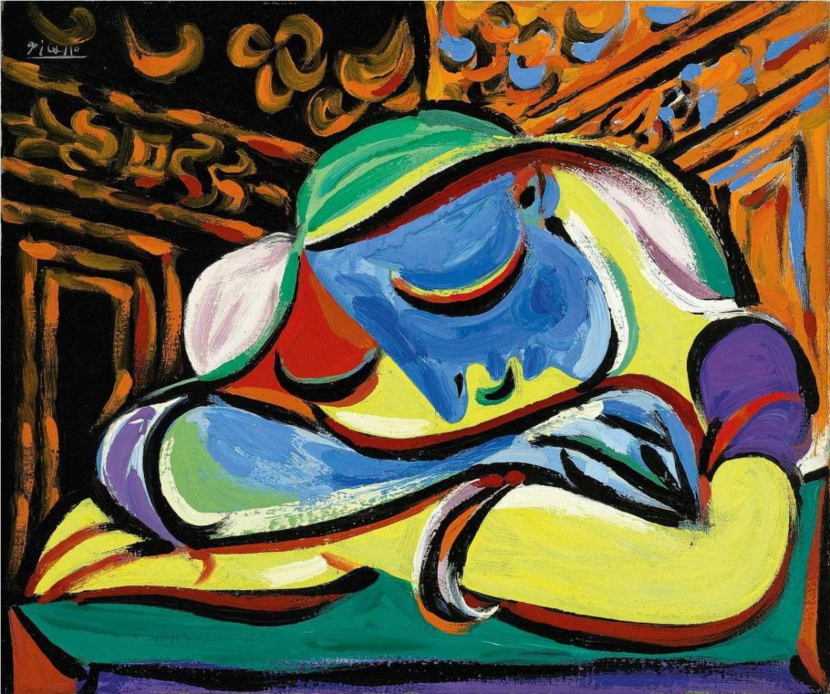 Pablo Picasso, Fanciulla che dorme, 1935