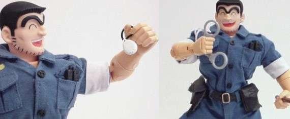 Bambola di Kannichi Ryotsu poliziotto