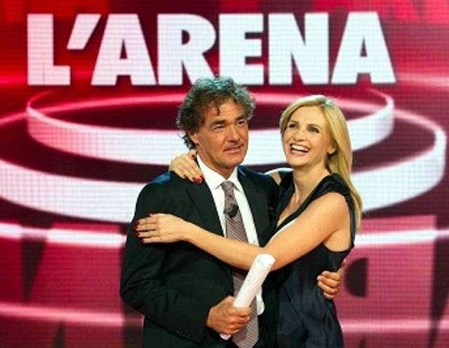 Lorella Cuccarini a L'Arena