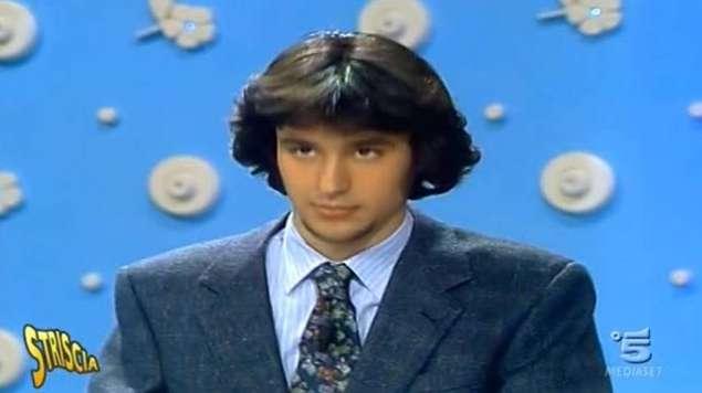 Matteo Salvini a 20 anni