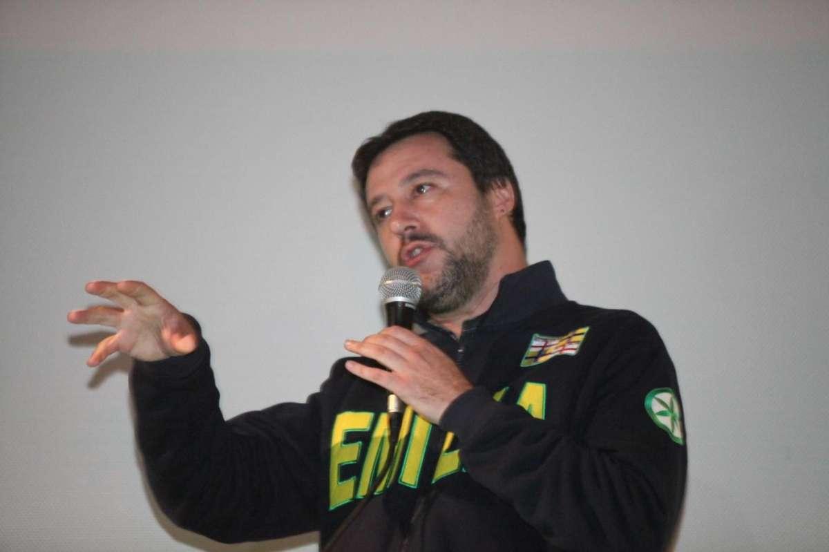 Matteo Salvini oggi