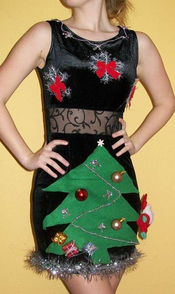 Abbigliamento natalizio spiritoso