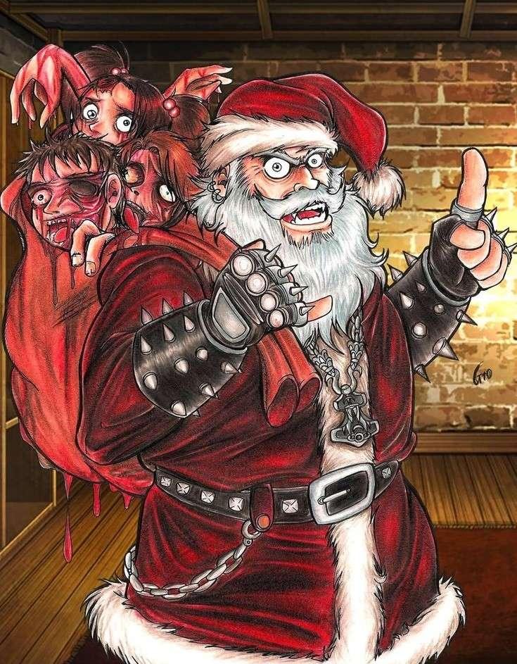 Babbo Natale Cattivo.Babbo Natale Diventa Cattivo Pagina 3