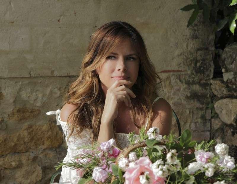 Paola Perego, sposa nel 2001