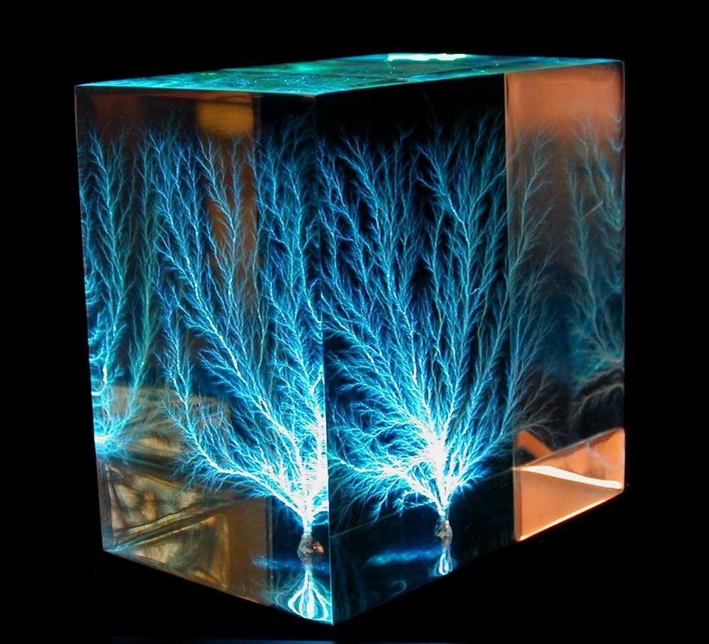 Albero di elettricita - Figure Di Lichtenberg
