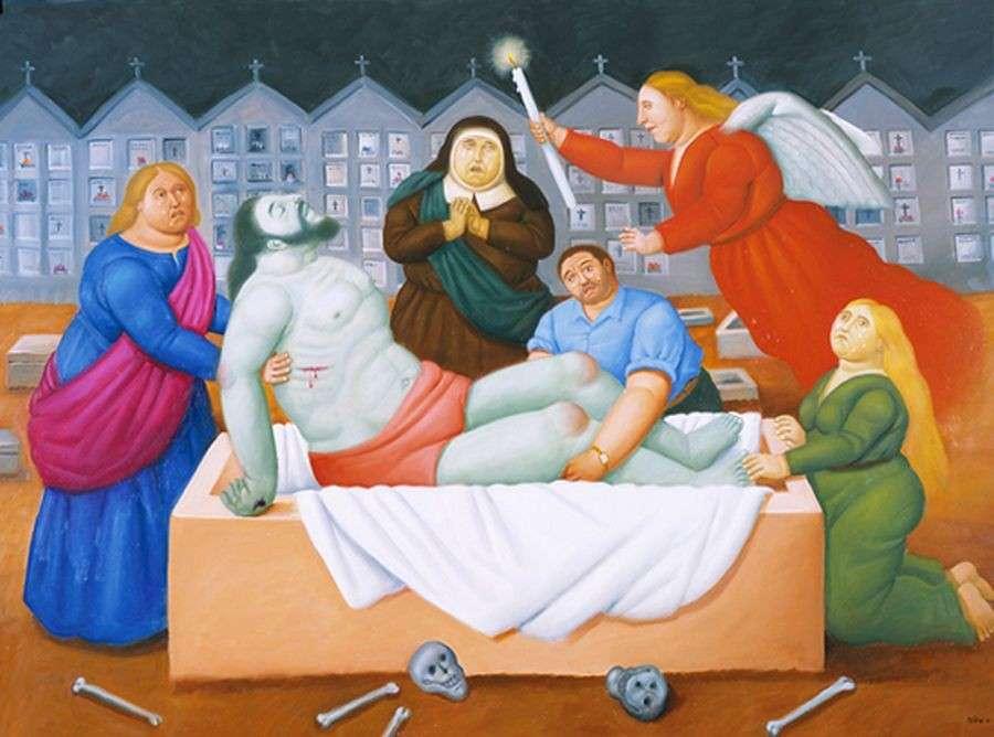 Fernando Botero, La deposizione di Cristo