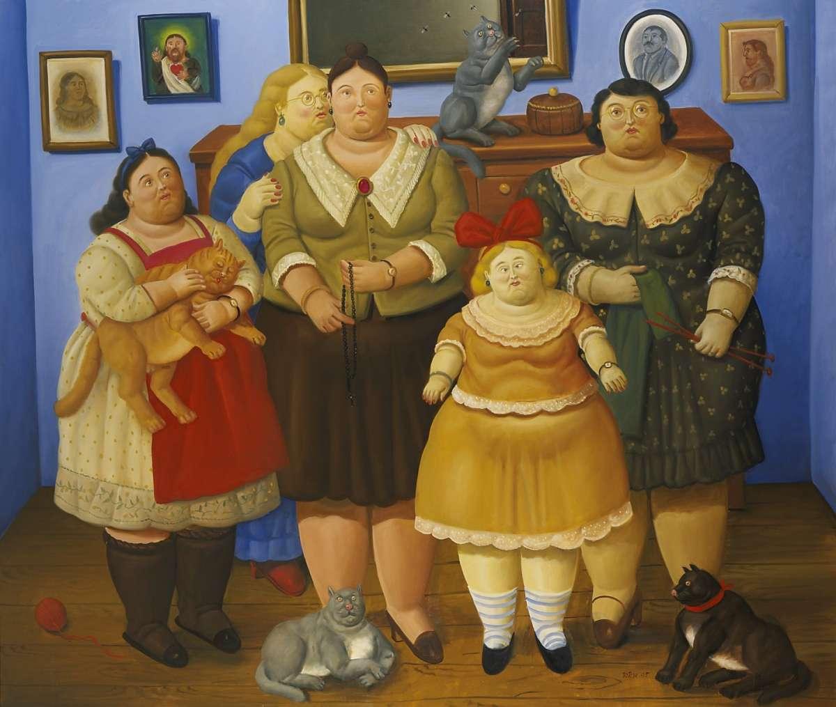 Fernando Botero, Le sorelle