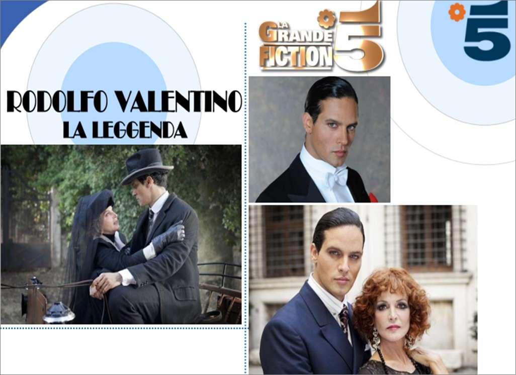Gabriel Garko è Rodolfo Valentino