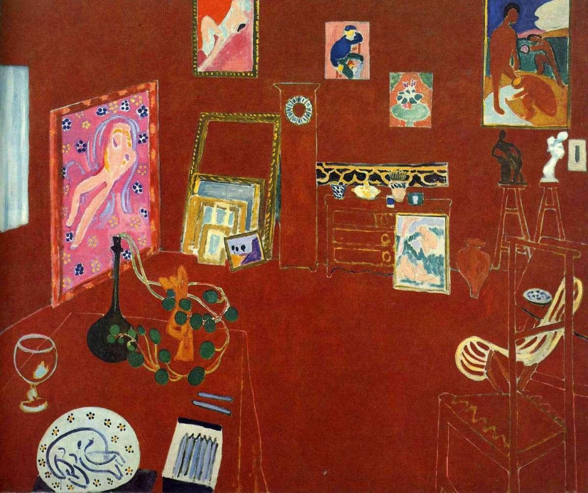 L'atelier rouge, 1911