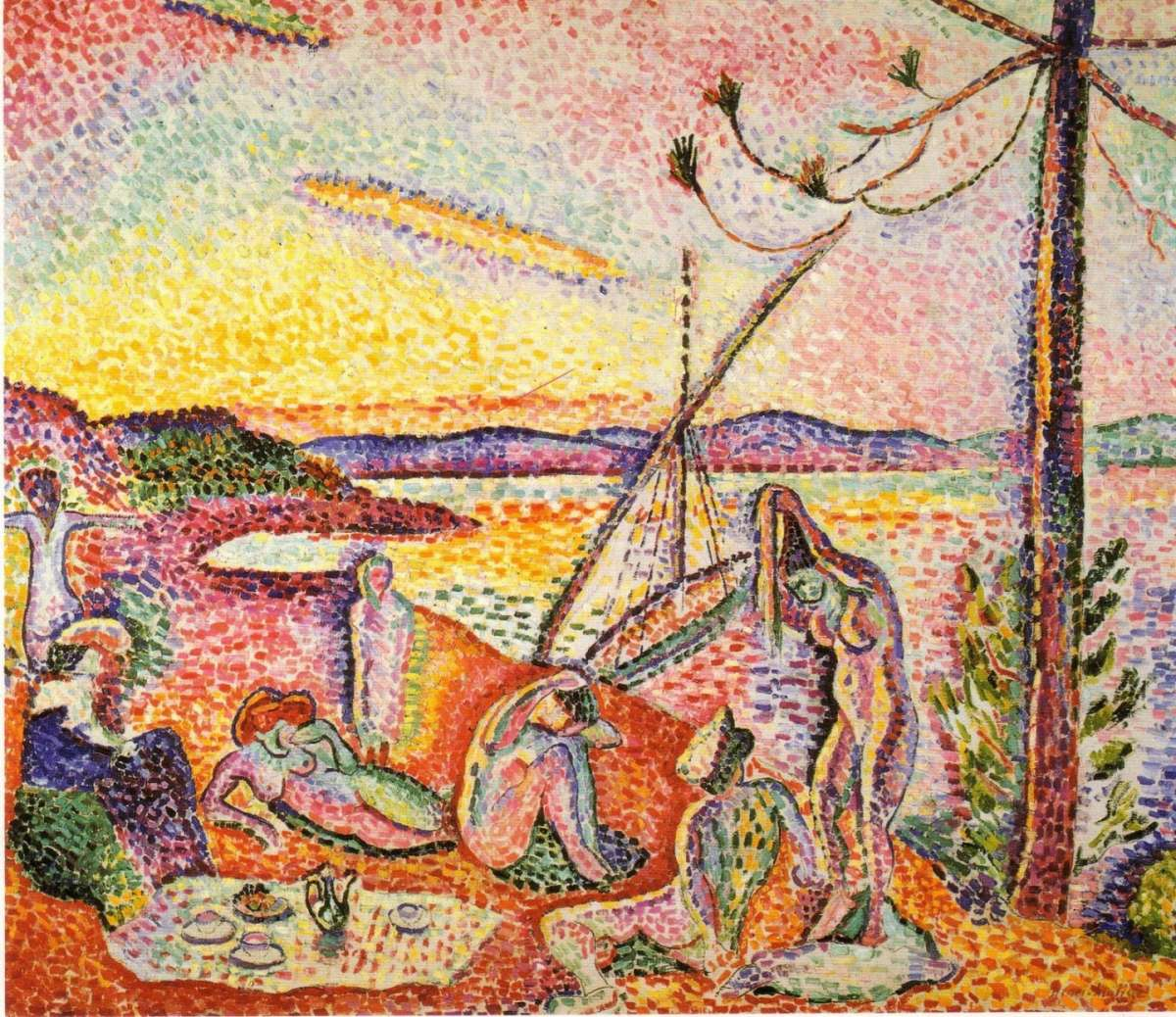 Lusso, calma e voluttà, 1905